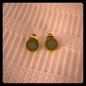 Quartzite Stud Earrings - Rivka Friedman